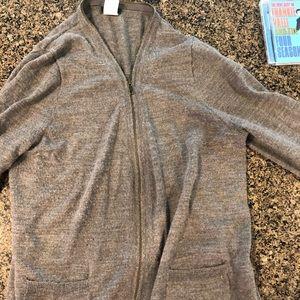 Sweaters - Jcrew women's zip up cardigan